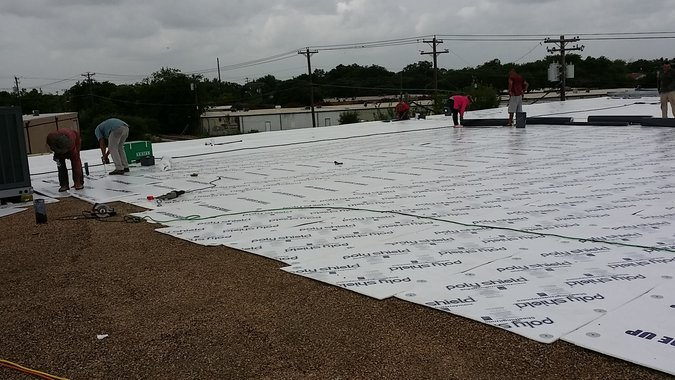 Oak Hill Commercial Roof Repair
