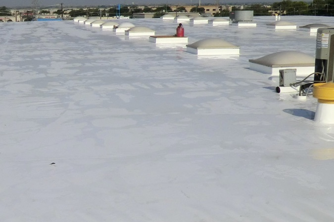 Commercial Flat Roof Replacement