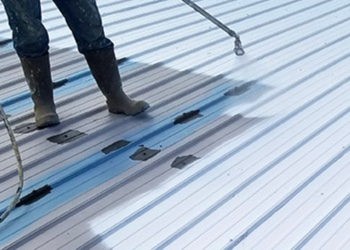 Commercial Metal Roof Coating Contractors