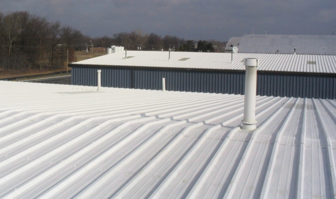 Commercial Metal Roof Coating