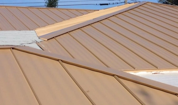 Commercial Metal Roof restoration