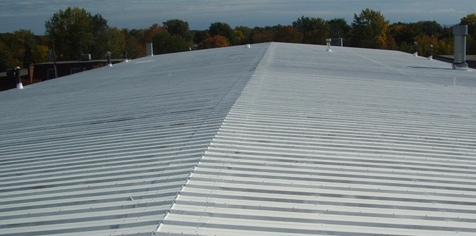 Oak Hill Commercial Metal Roof Repair