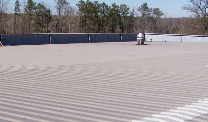 Round Rock Commercial Metal Roof Restoration
