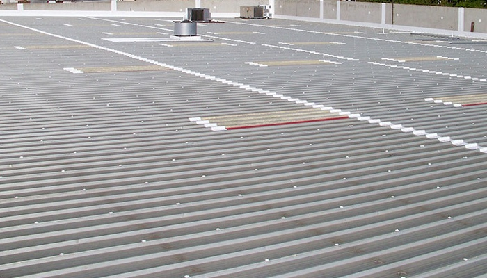 Temple Commercial Metal Roof Repair