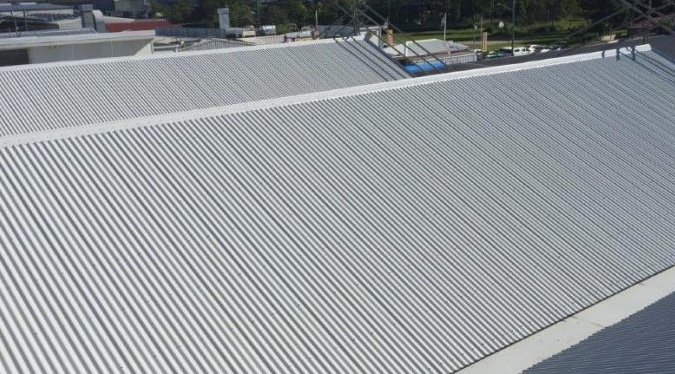 Temple Commercial Metal Roof Restoration