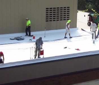 Waco Commercial Flat Roof Repair Contractors