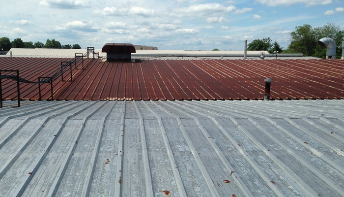 Waco Commercial Metal Roof Restoration